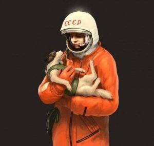 Laika+Gagarin