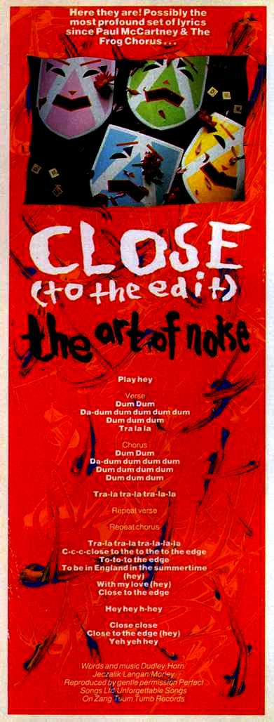 Interview With GARY LANGAN Of THE ART OF NOISE THE