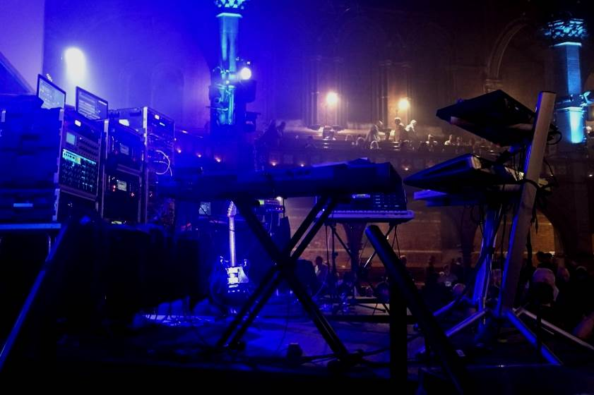 TANGERINE DREAM Live at Union Chapel - THE ELECTRICITY CLUB
